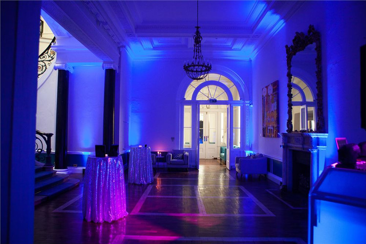 Uplighting hire 10-11 Carlton House Terr