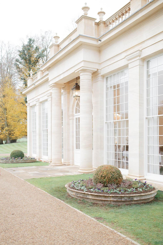 Orangery at Rushton Hall Wedding