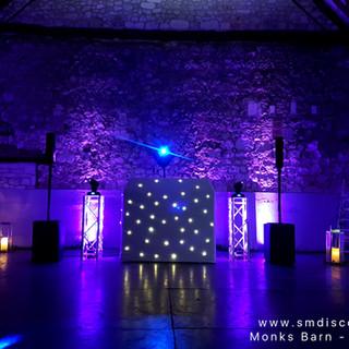 Hurley Wedding DJ Monks Barn.jpg