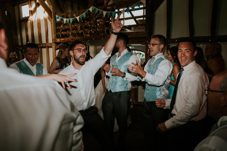 Pitt Hall Barn Wedding DJ