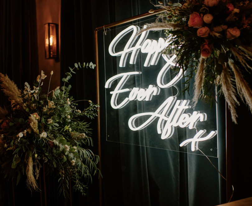 happily ever after neon wedding signs.pn