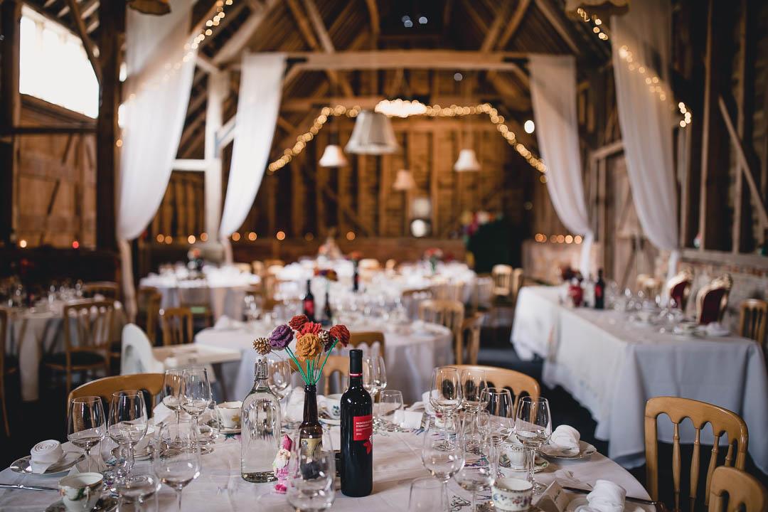 wedding at North Hidden Barn