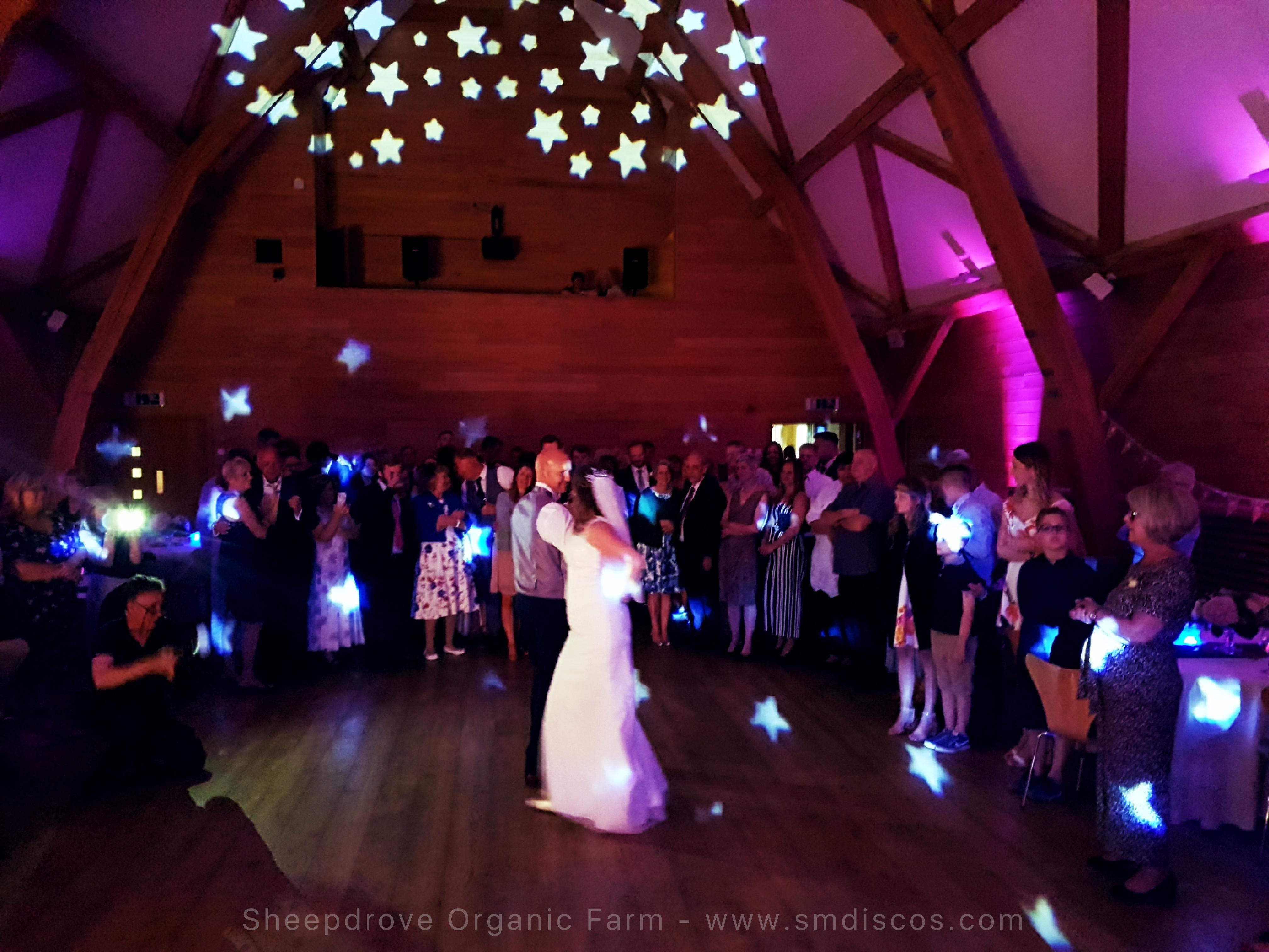 Wedding dance in Oxfordshire