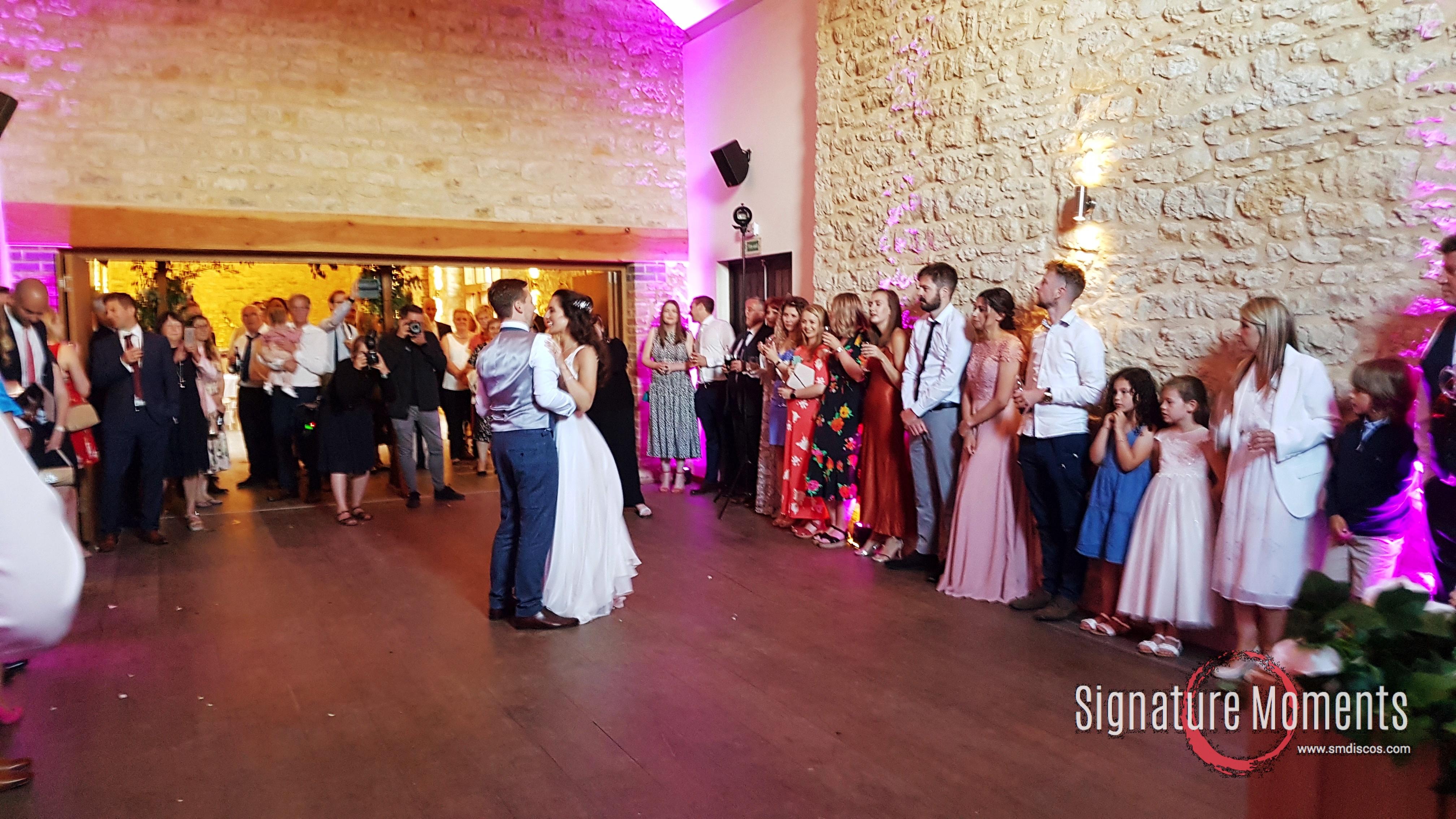 Huntsmill Farm First dance