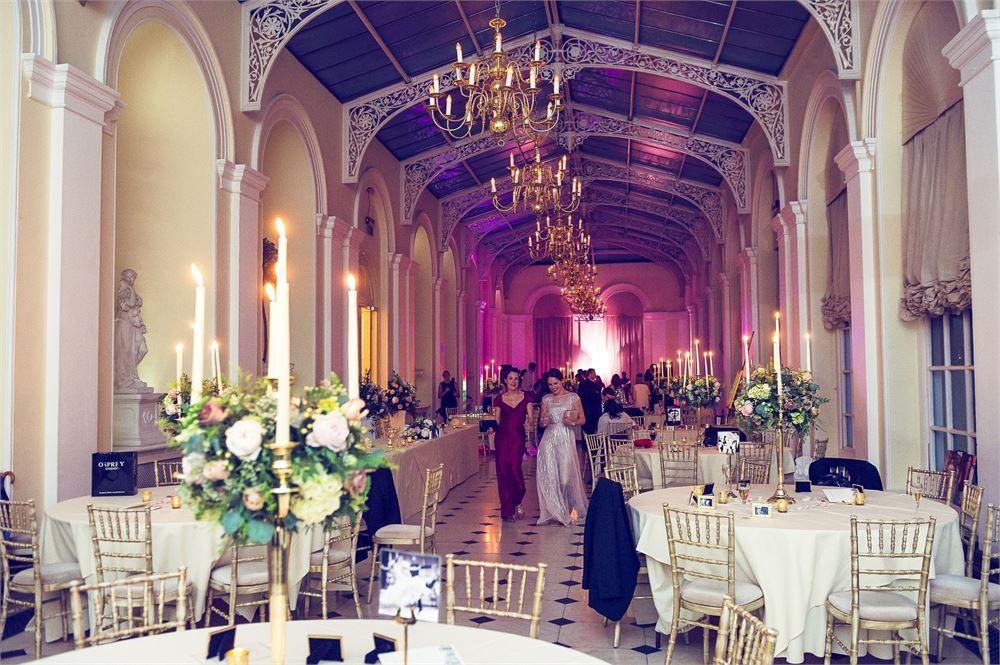 Blenheim Palace lighting