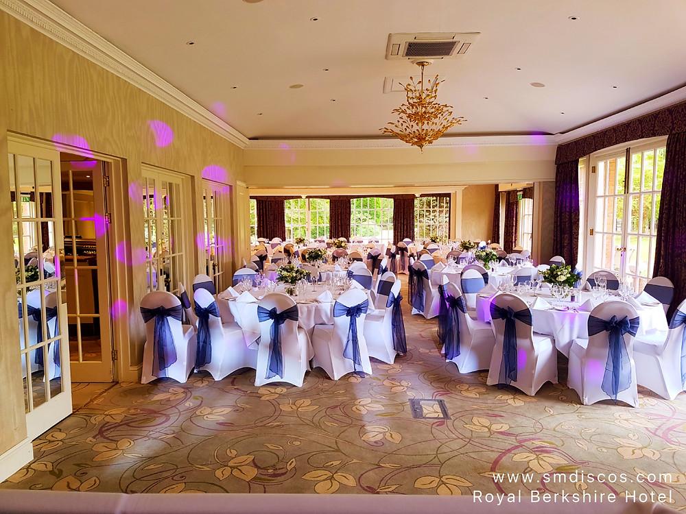 Wedding at The Royal Berkshire Hotel