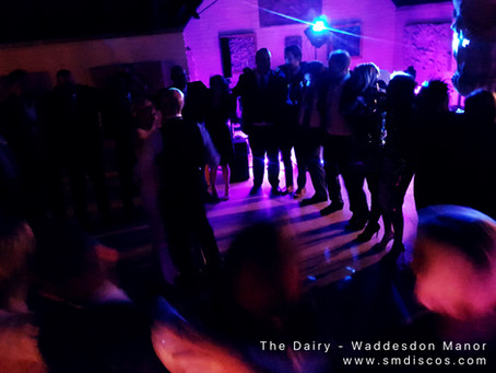 Waddesdon Manor The Dairy Wedding DJ / Rosie & Mikes Wedding