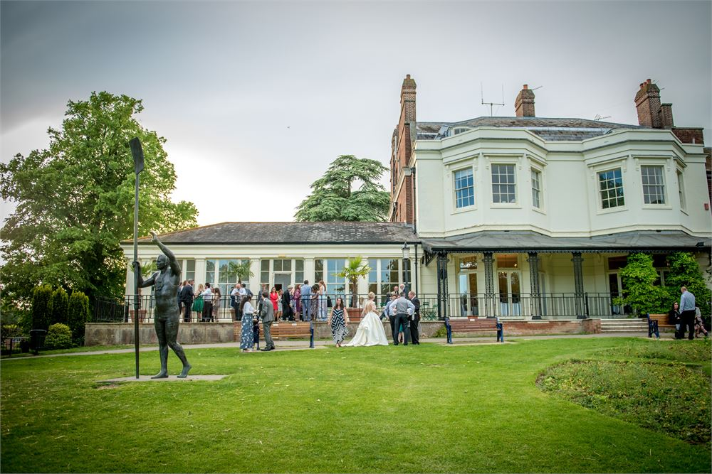Wedding DJ Court Garden House in Marlow.