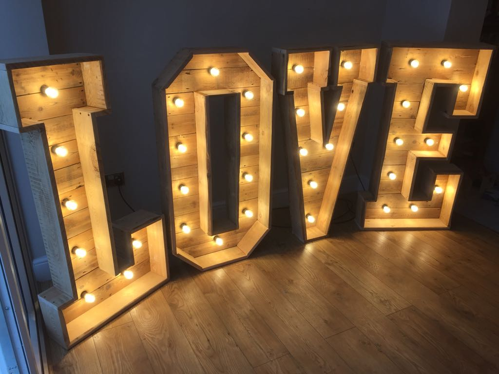 rustic love letters for your wedding