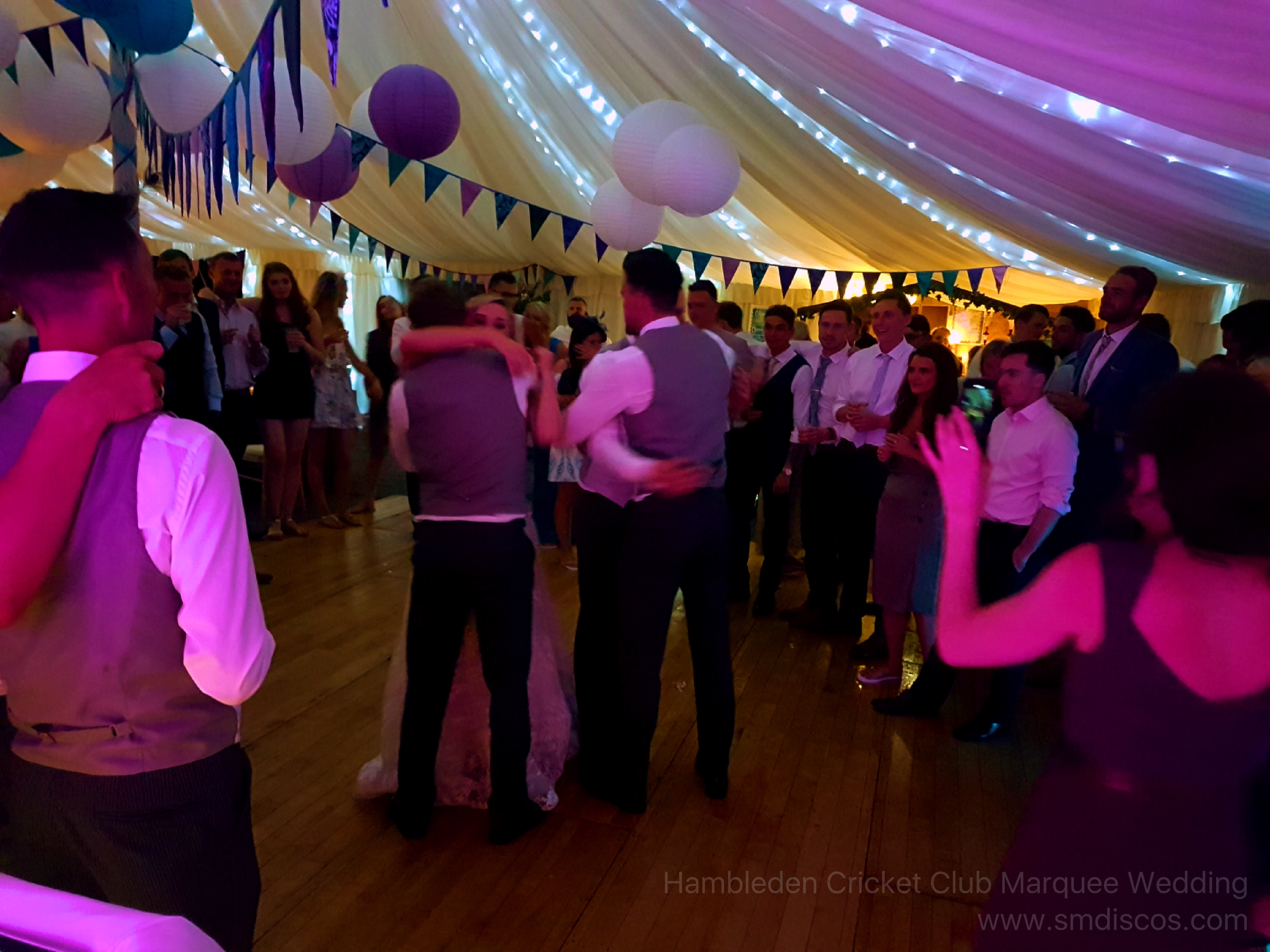 River Thames Marquee Wedding DJ