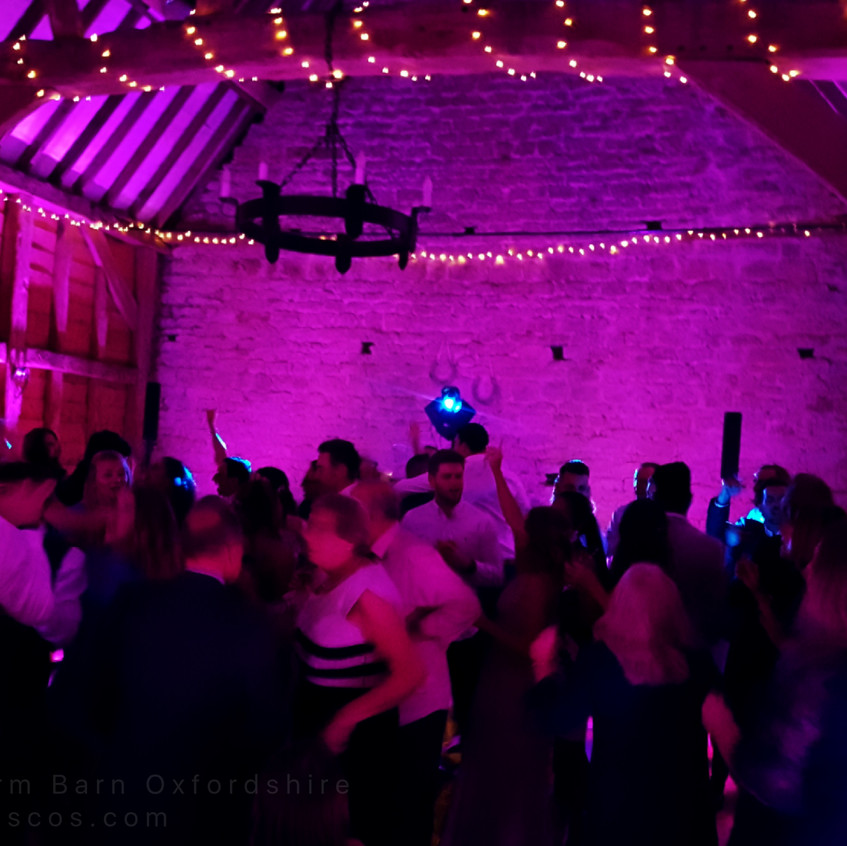 wedding disco Oxford
