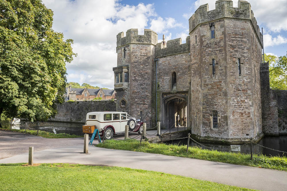 Wedding car hire The Bishop's Palace