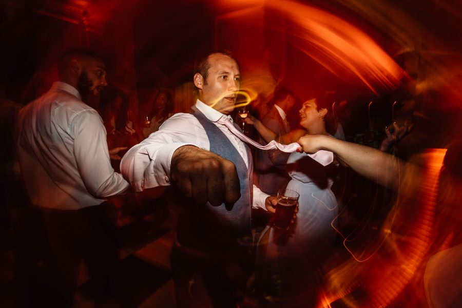Throwing shapes at Hedsor House Wedding