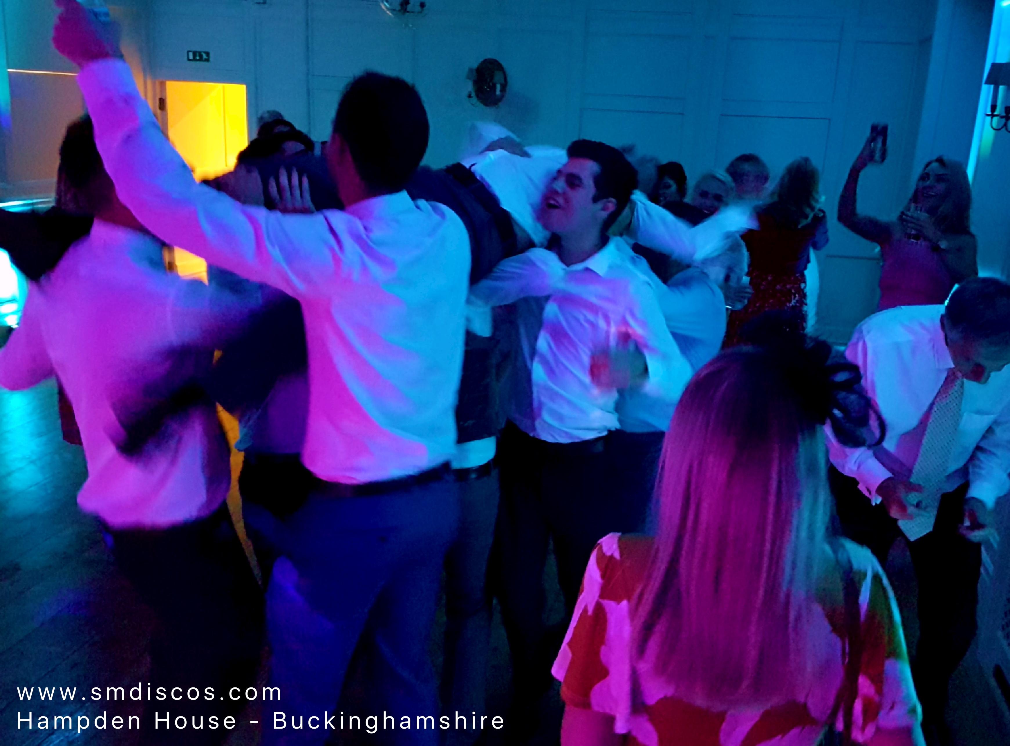 Wedding DJs for Hampden House