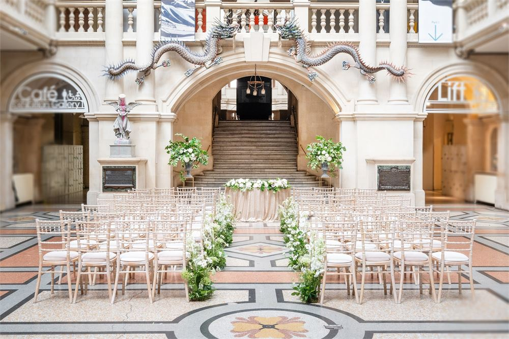 weddings at Bristol Museum