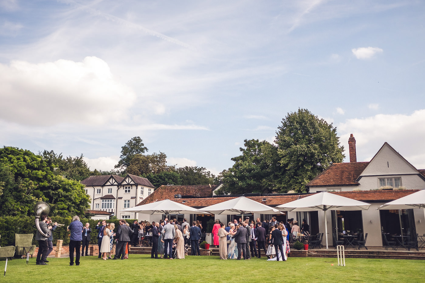 Wedding at The Great House at Sonning