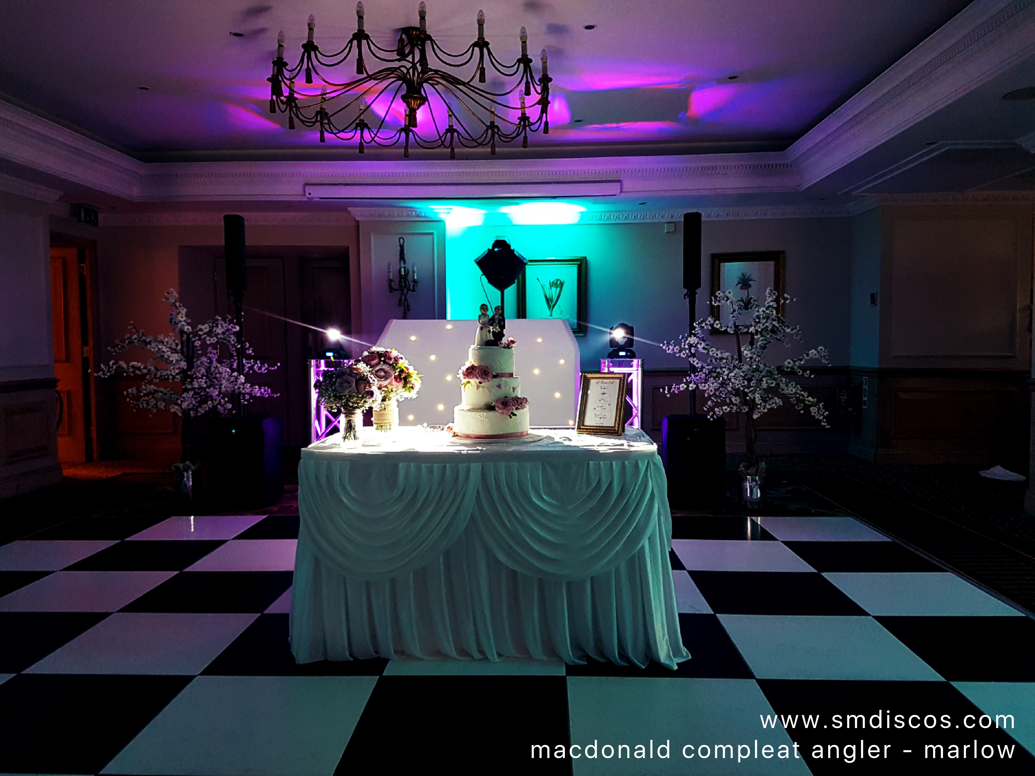 wedding disco at macdonald compleat angl