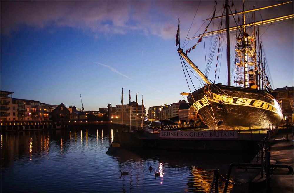 Wedding DJ for Brunel's SS Great Britain