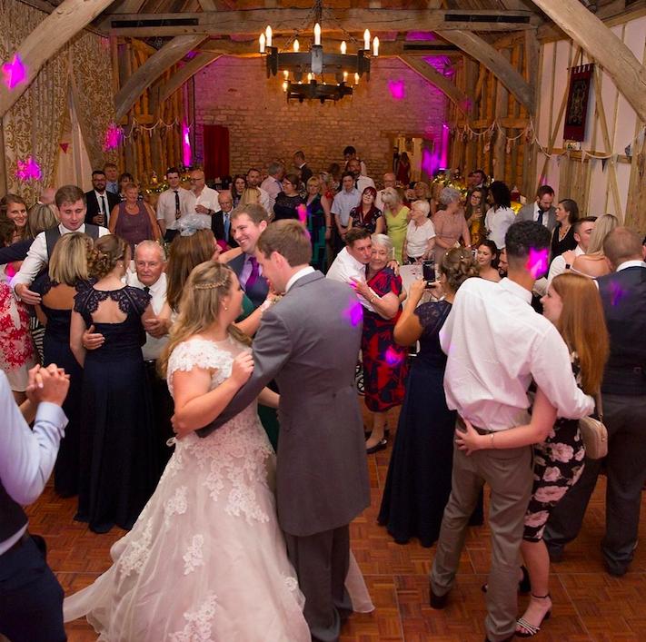 Wedding DJ at Manor Farm Barn