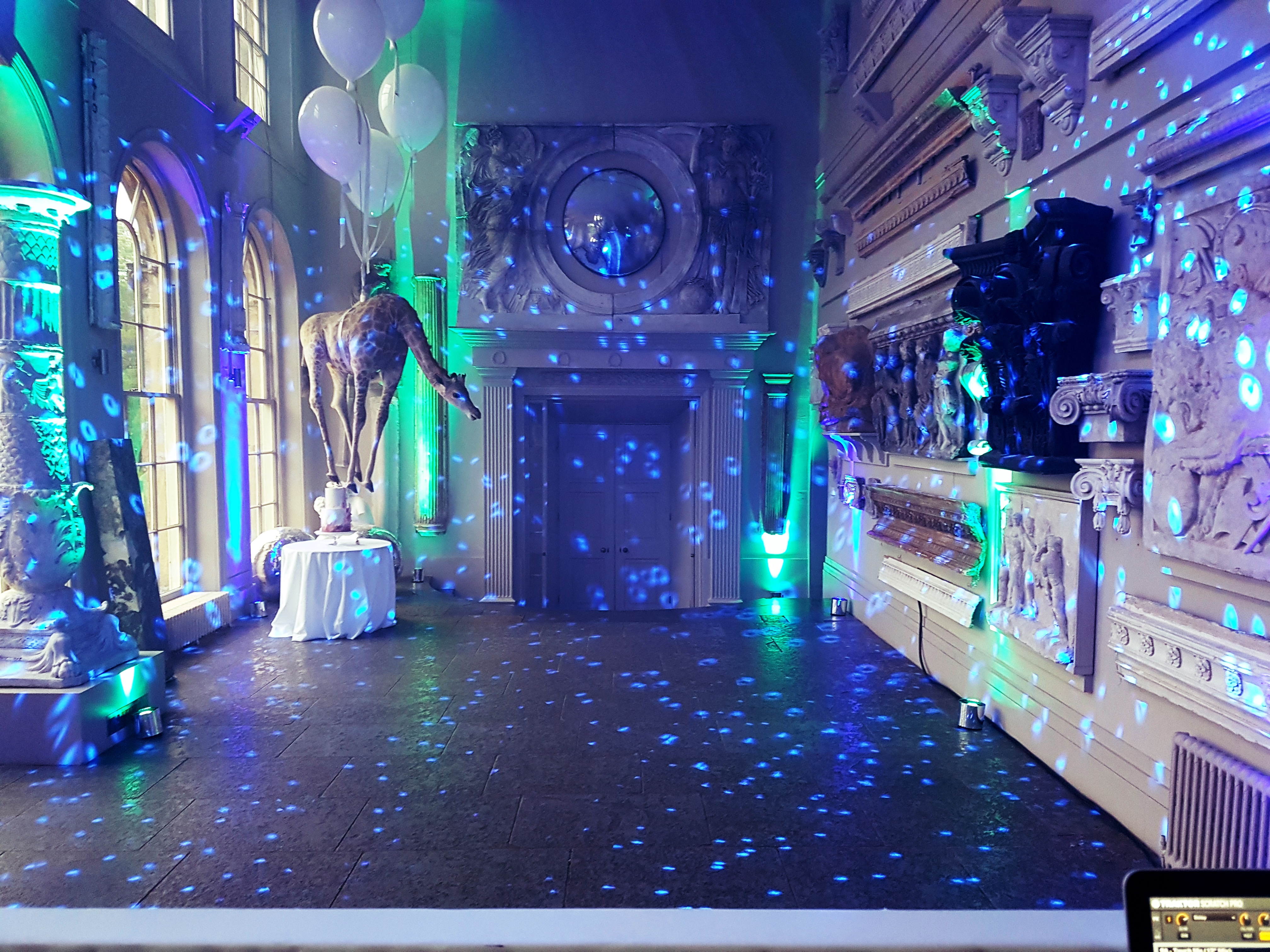 Aynhoe Park Oxfordshire Wedding DJ