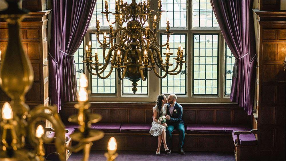 Rhinefield House Hotel wedding photo