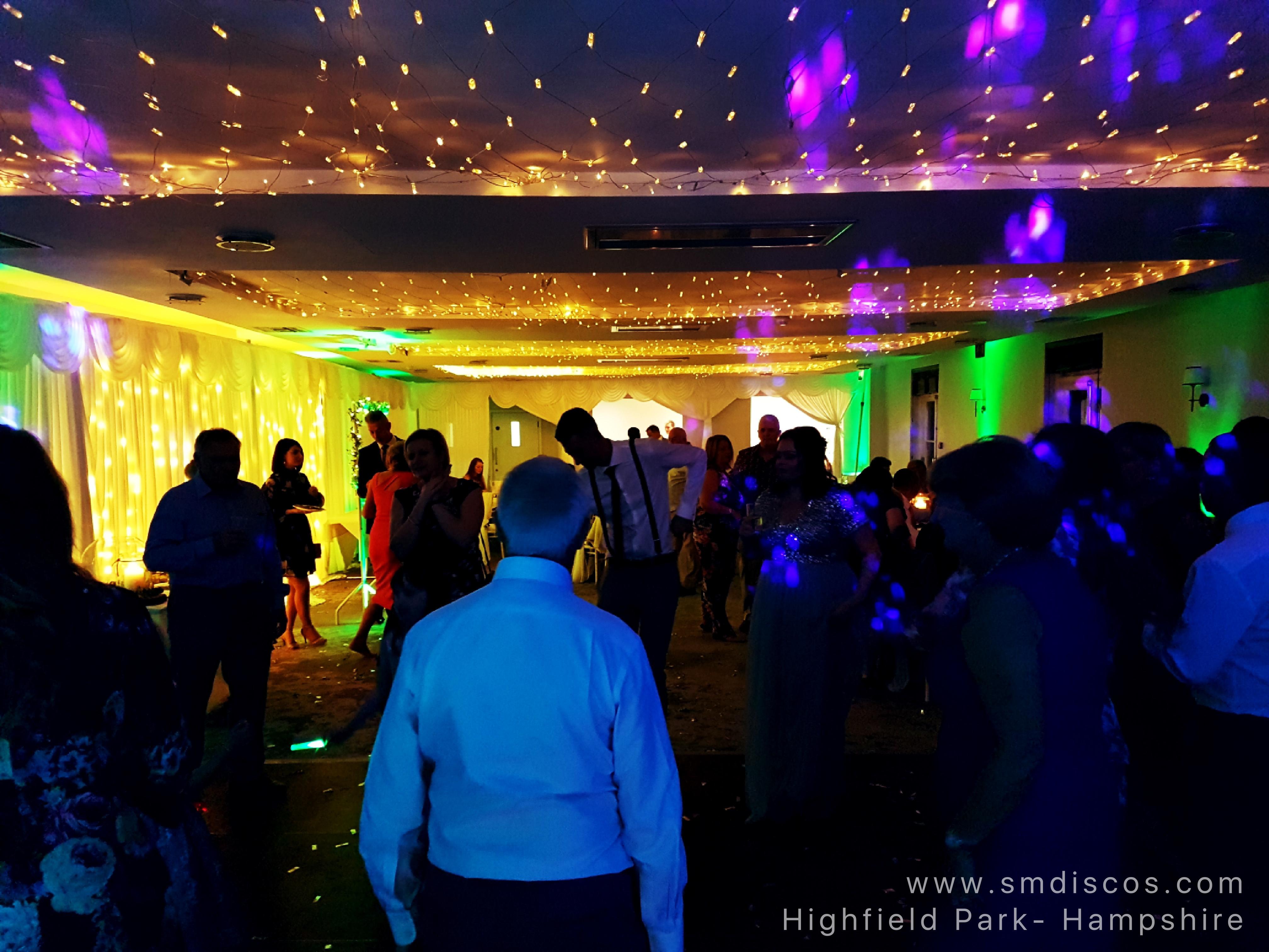 DJ for Highfield Park