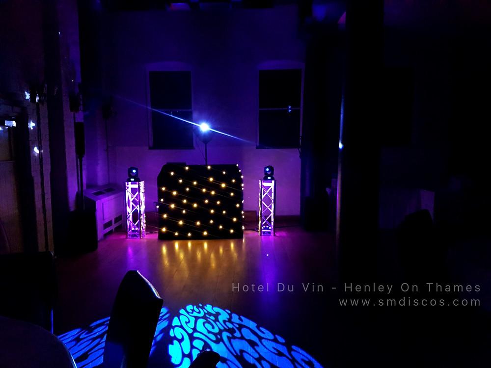 Hotel Du Vin DJ Disco hire - Oxfordshire