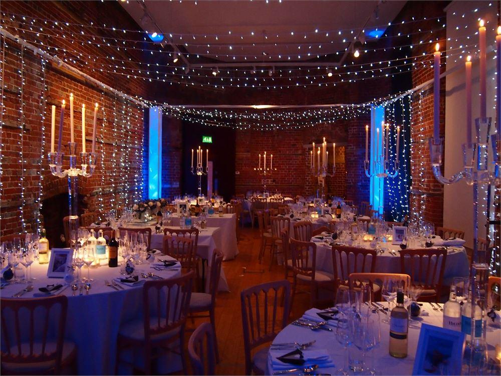 Uplighting hire Highcliffe Castle