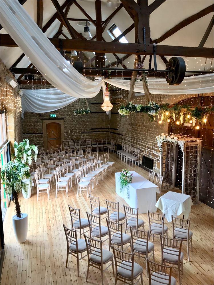 The Barns at Hunsbury Hill Wedding vENUE