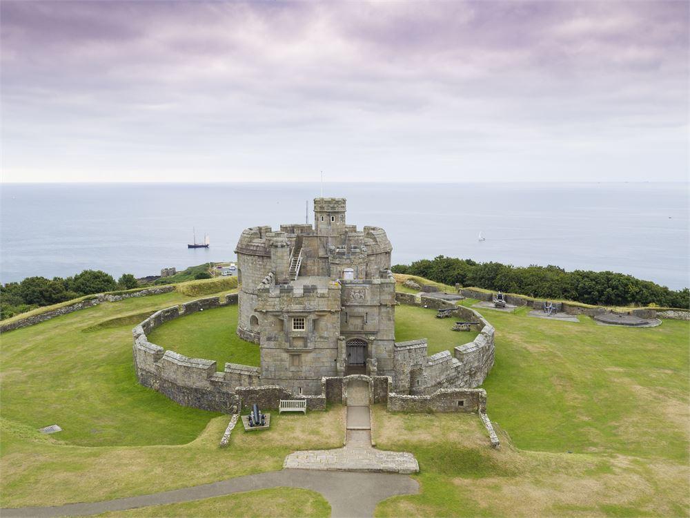 Pendennis Castle wedding photography
