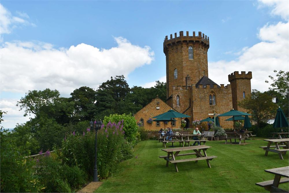 Banbury Wedding DJ Castle at Edgehill