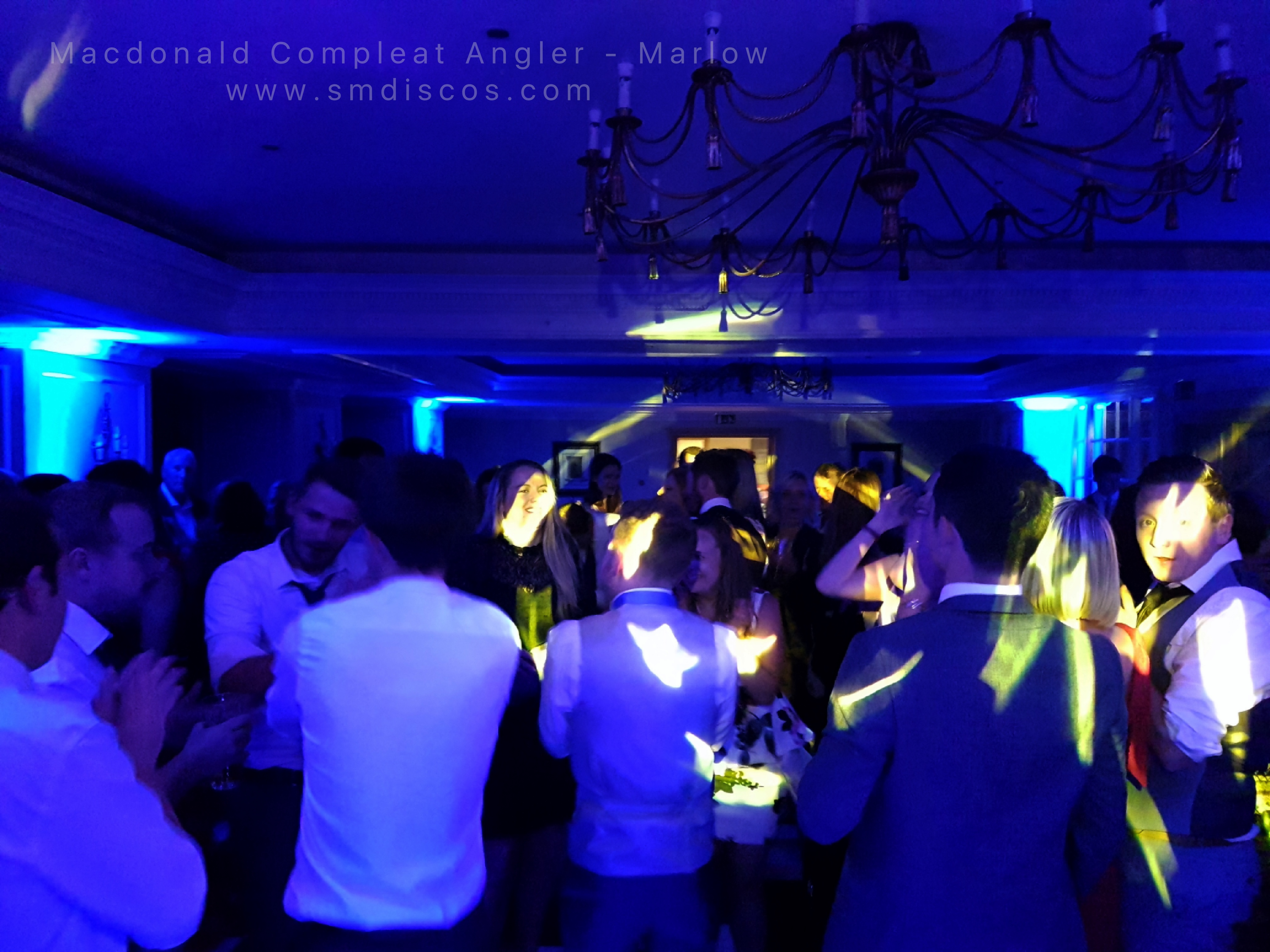 Marlow Compleat Angler Wedding Disco DJ.