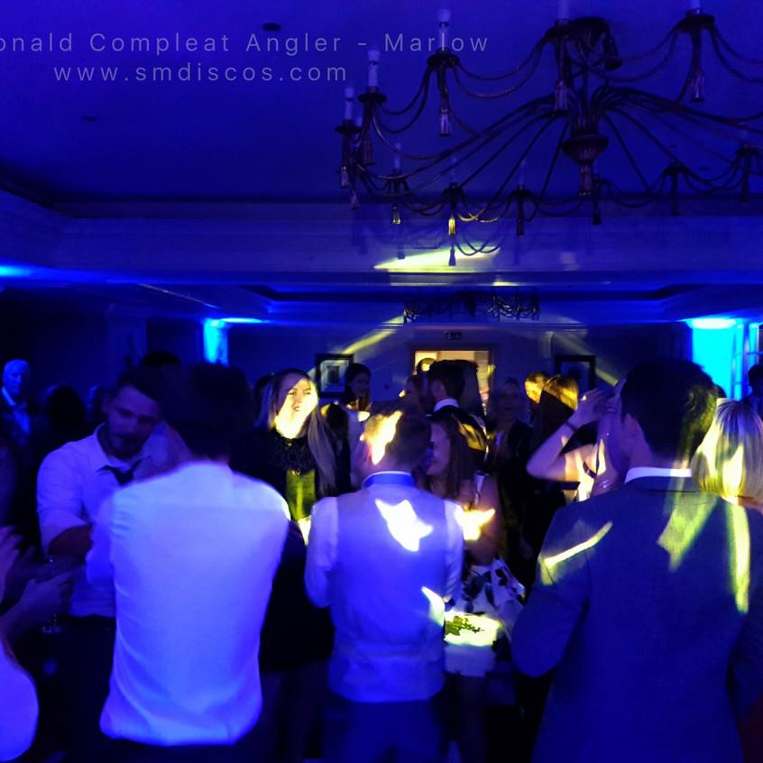 Marlow Compleat Angler Wedding Disco DJ.