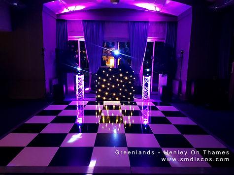 Greenlands Wedding Disco Henley On Thame
