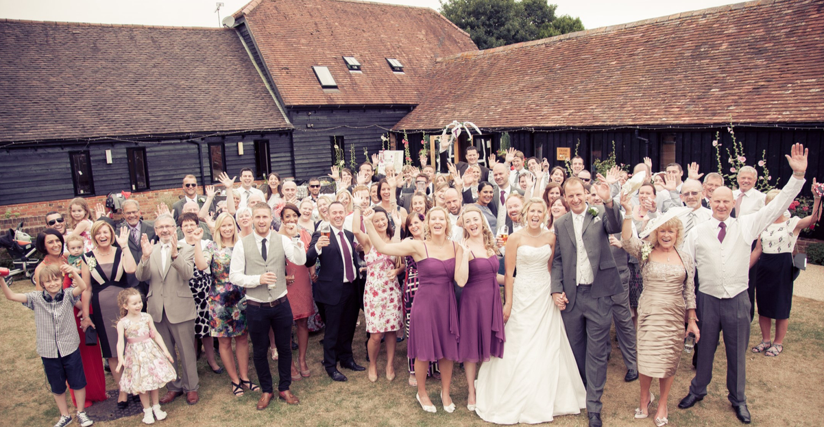 THAME BARNS CENTRE WEDDING DAY