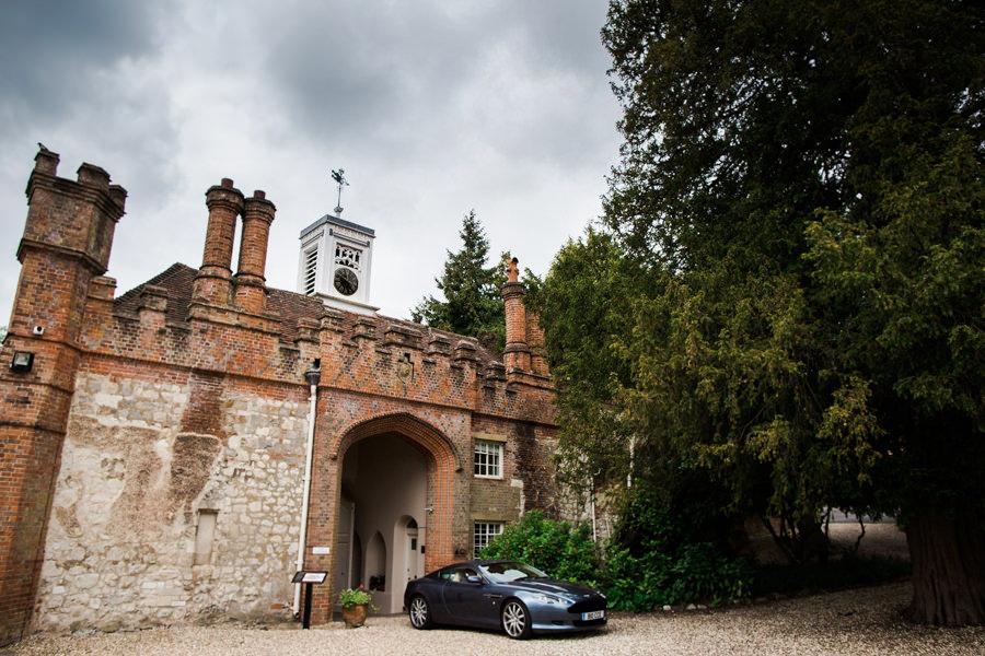 Farnham Castle Surrey DJ