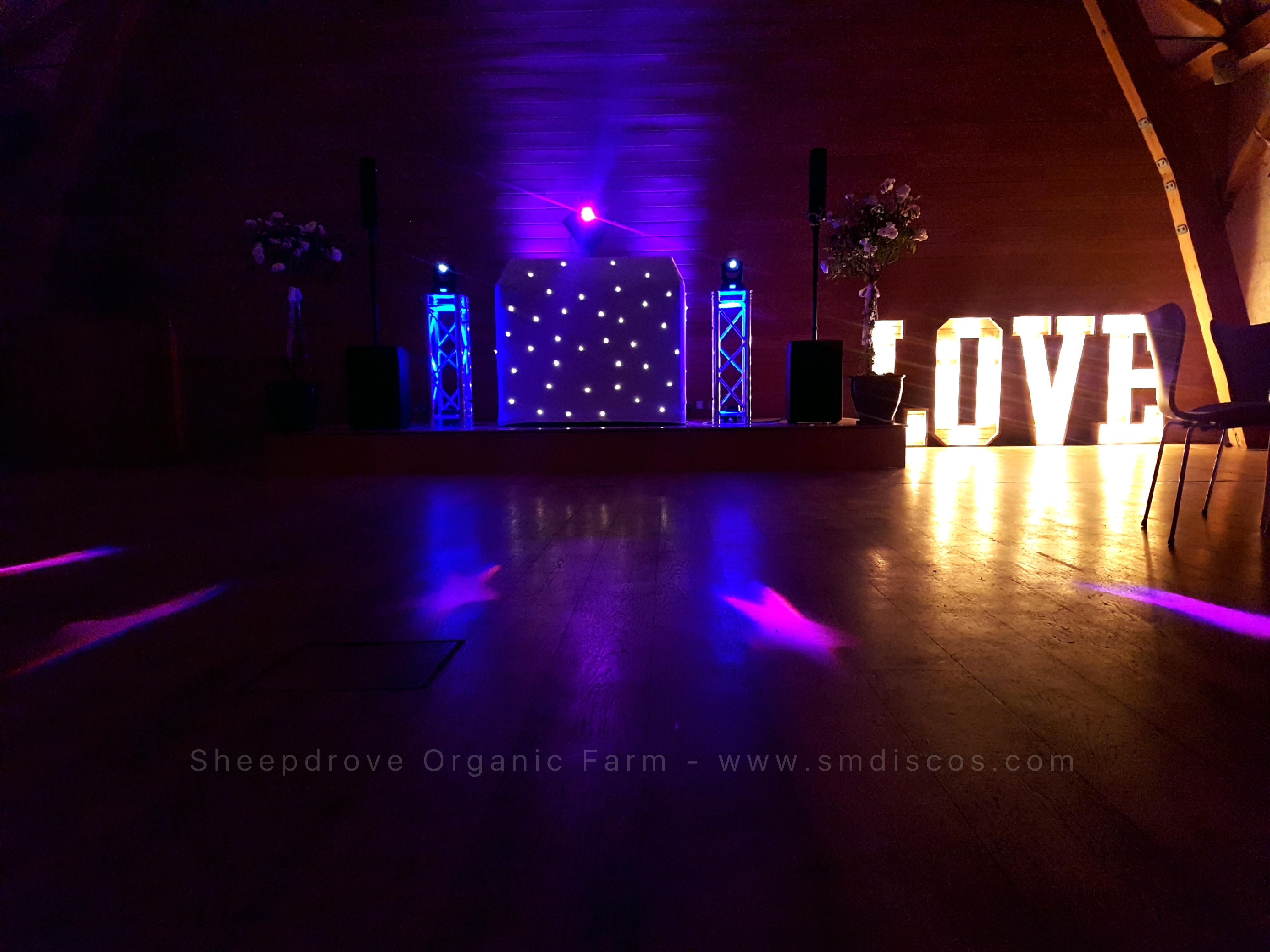 Wedding at Sheepdrove Organic Farm