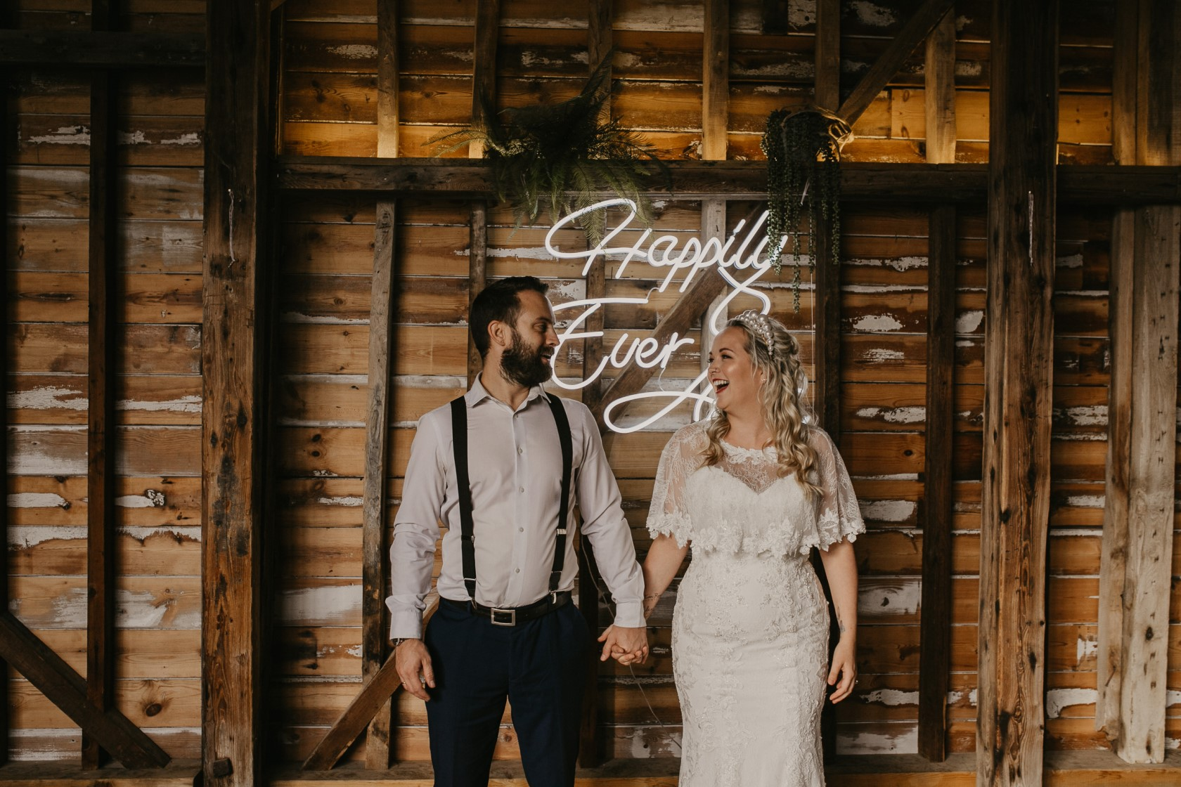 happily ever after neon light hire