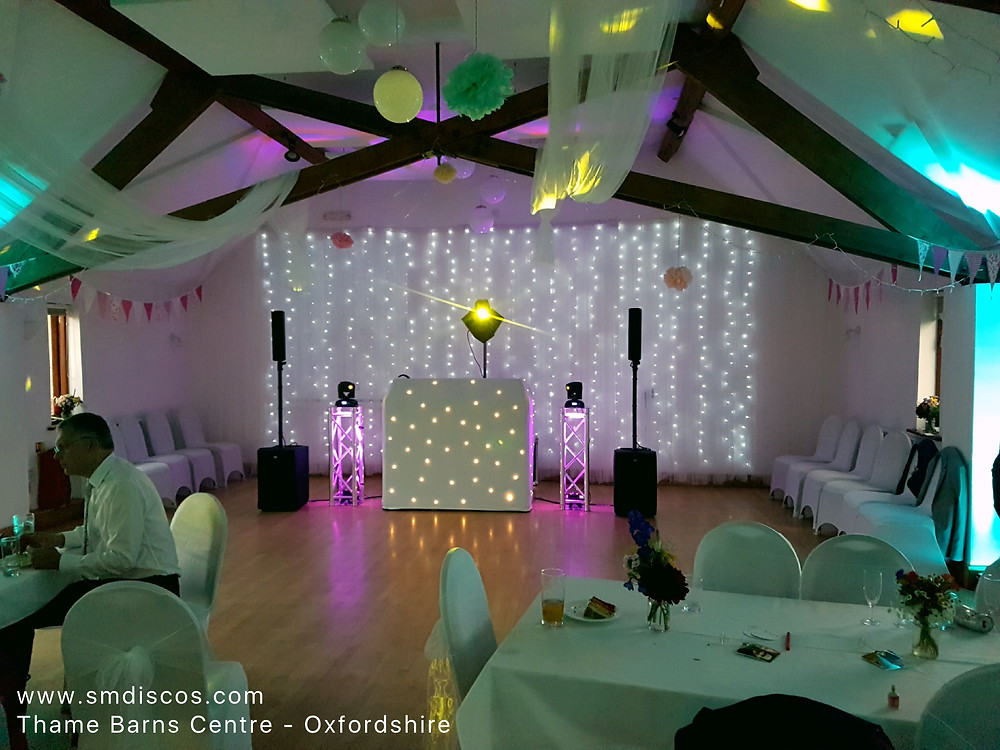 Wedding DJ at Thame Barns Centre