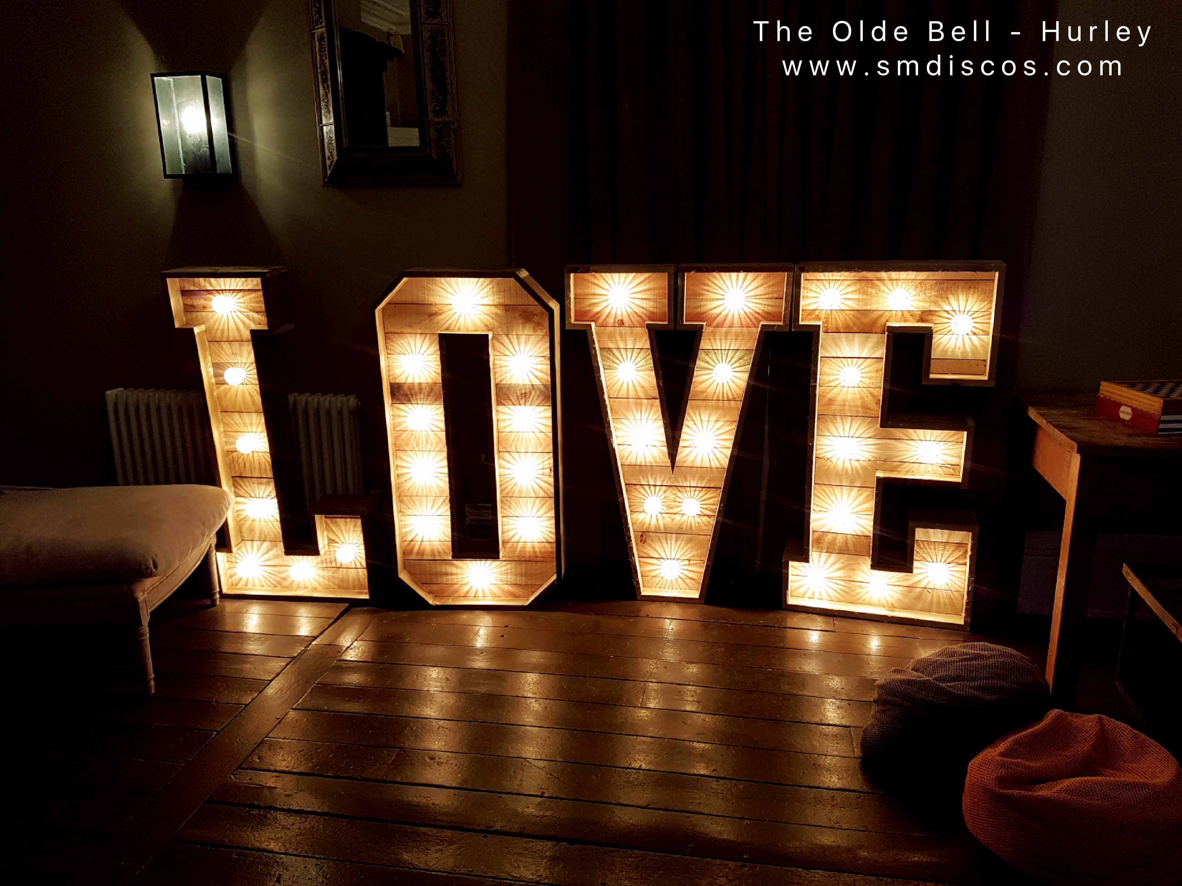 The Olde Bell in Hurley Love Letters
