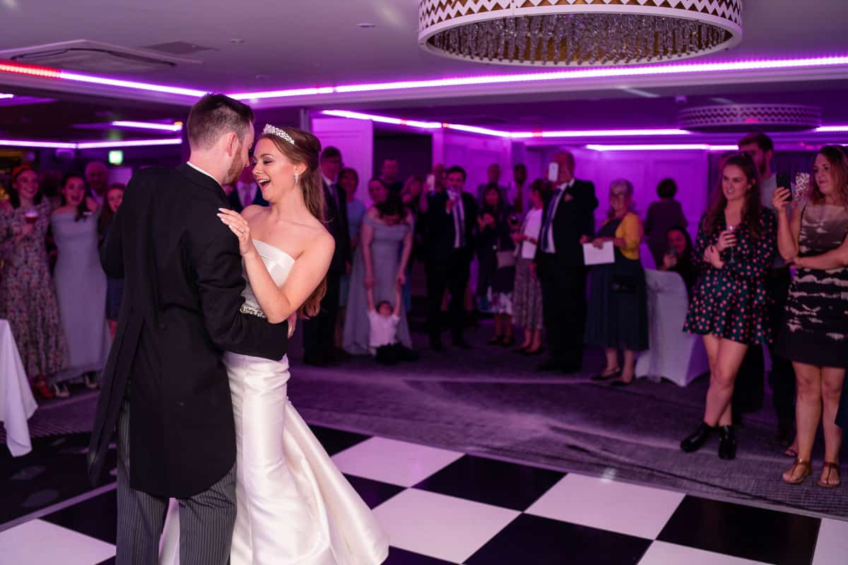 Hoar Cross Hall wedding dj disco