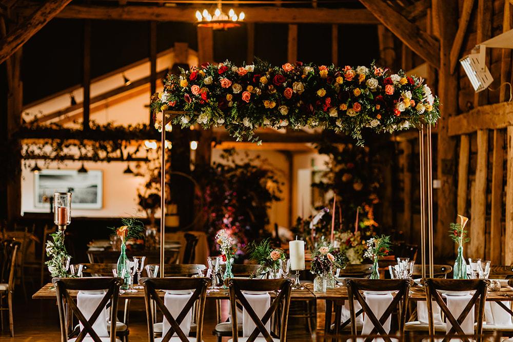 wedding at Silchester Farm