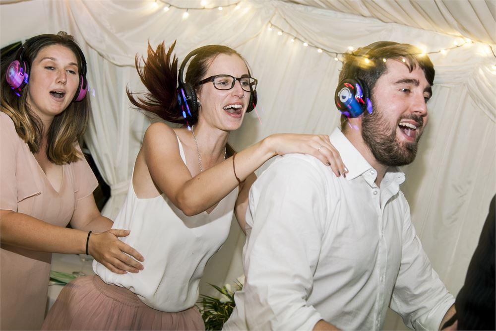 wedding dj silent disco U.K