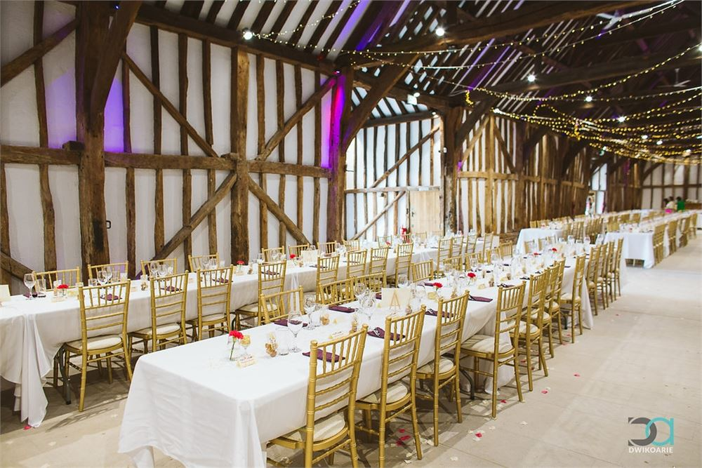 wedding at The Great Barn at Headstone M