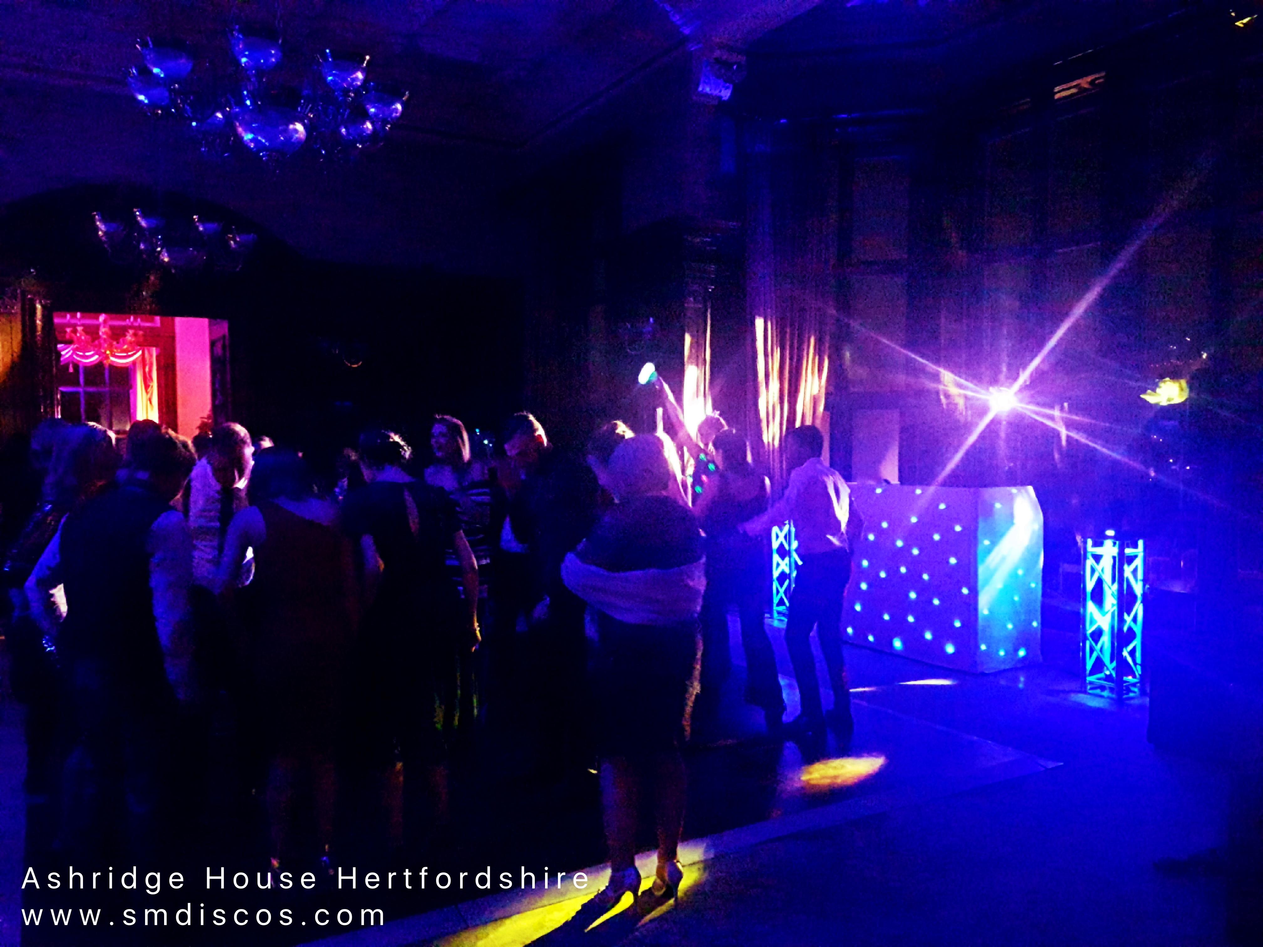DJ at Ashridge House