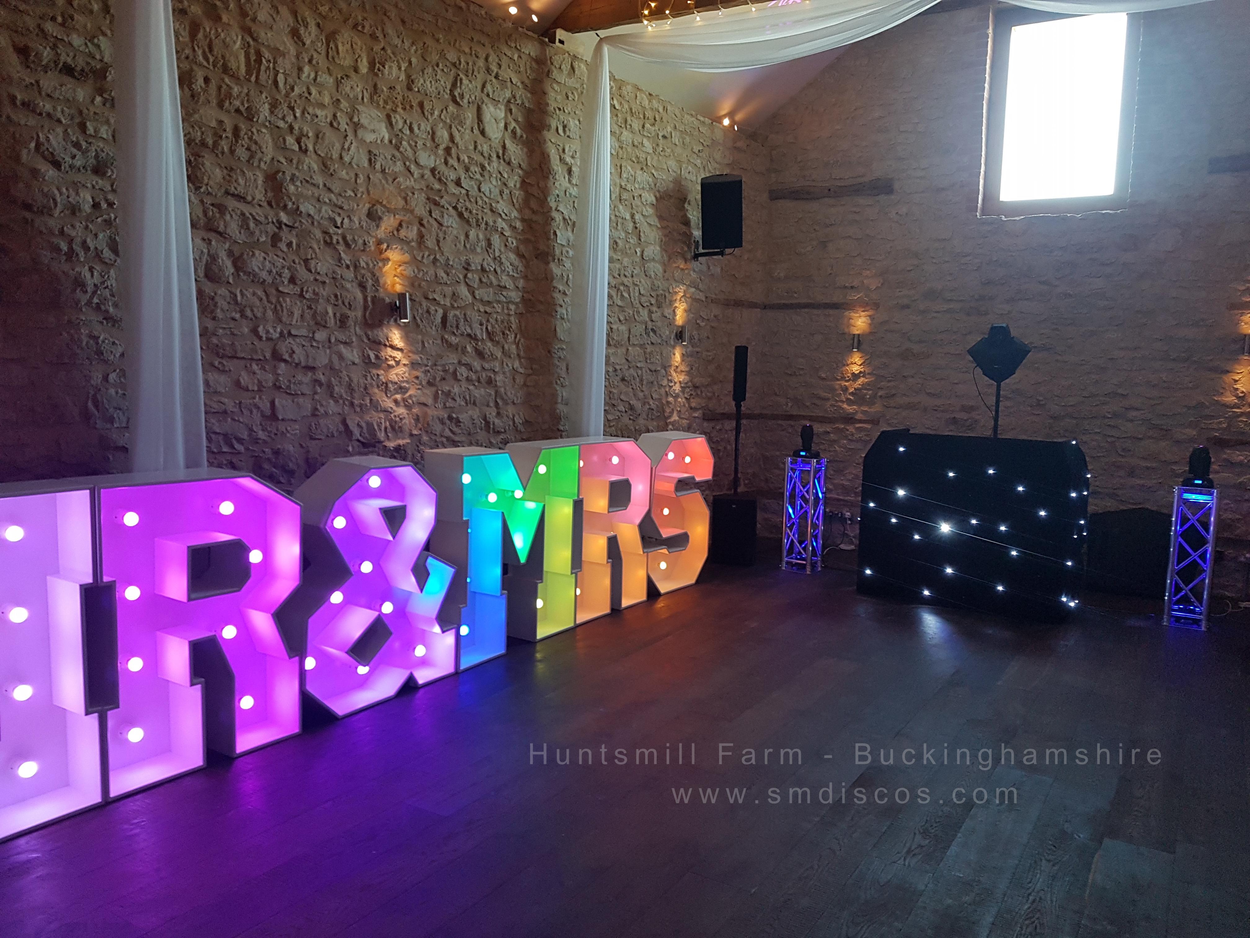 Huntsmill Farm Wedding DJ 1