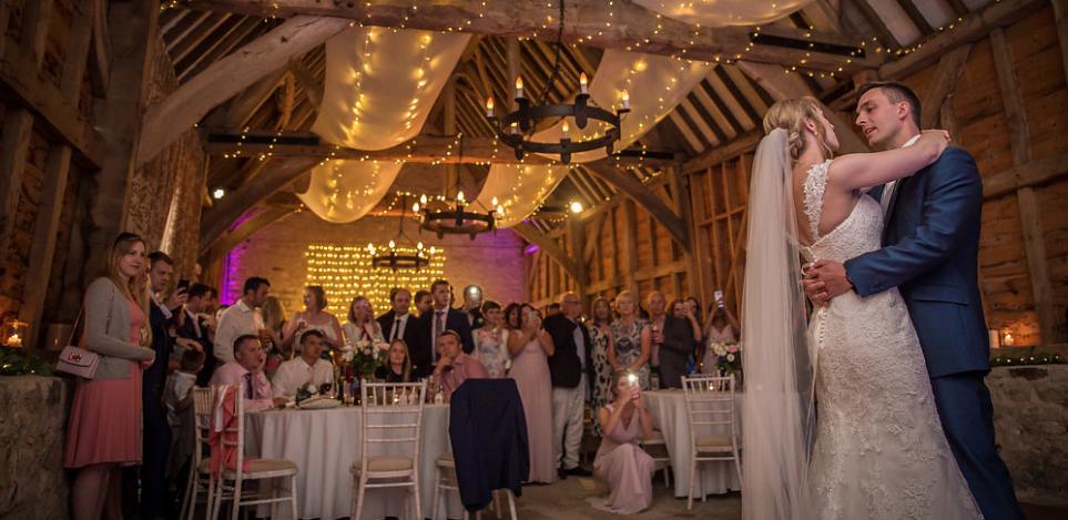 Oxford barn wedding