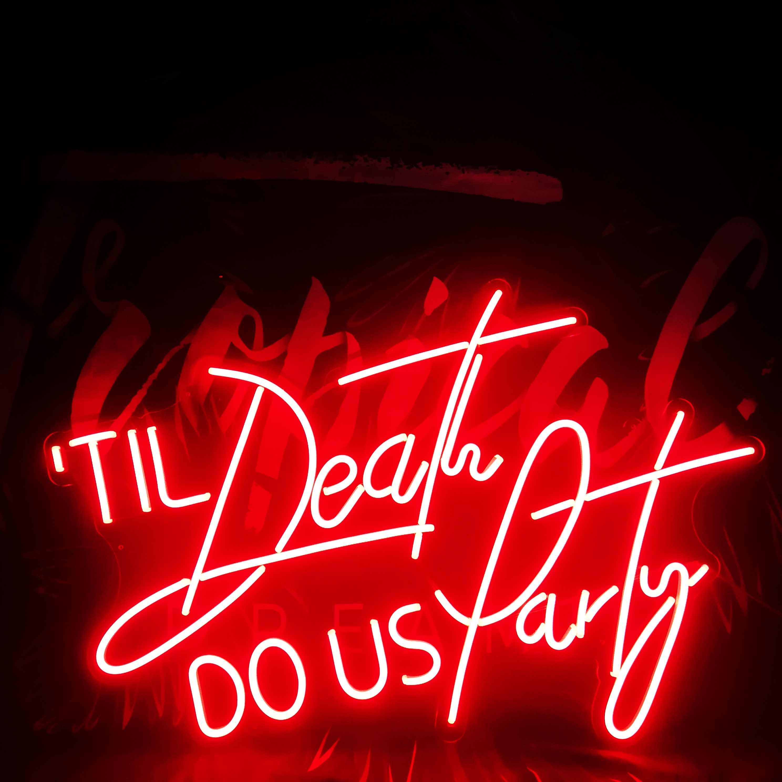 neon sign hire high wycombe wedding