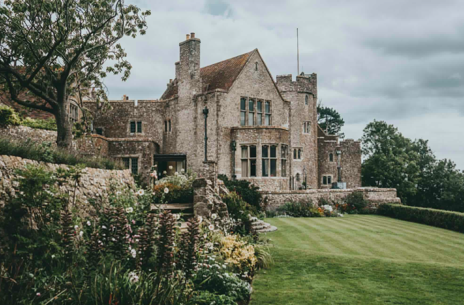 Lympne Castle Wedding Day