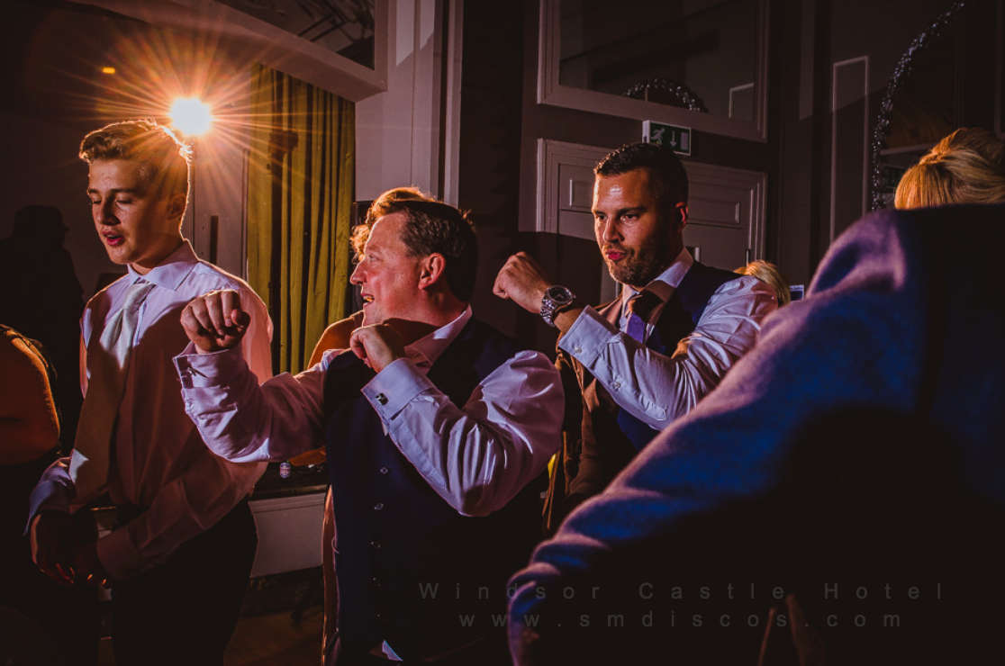 Windsor Castle Hotel wedding Disco SM DISCOS